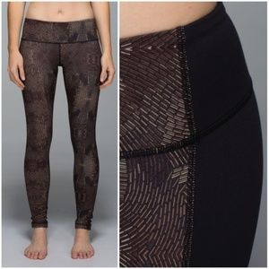Lululemon Golden Goddess Cashew bronze leggings 4